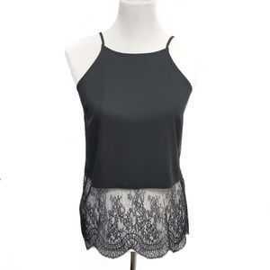 🆕️ BCBG Strappy Racer Tank with Lace